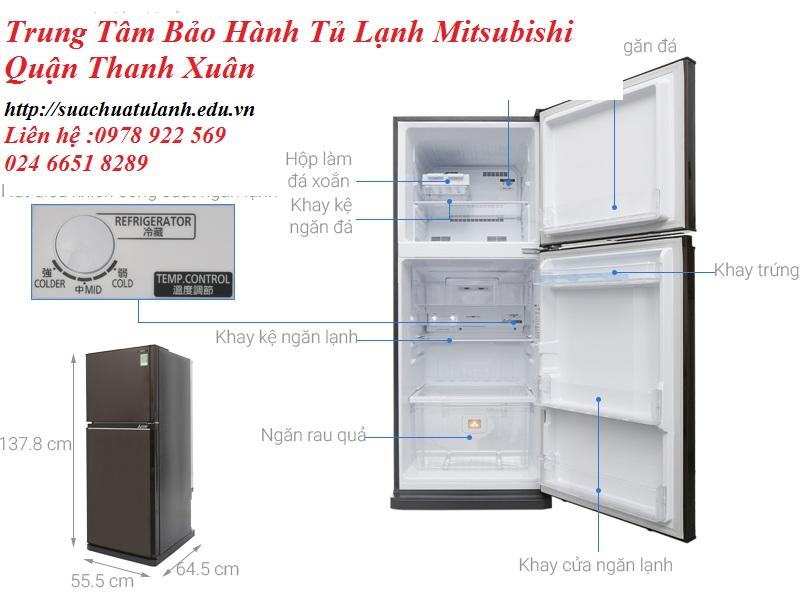 Trung Tâm Bảo Hành Tủ Lạnh Mitsubishi Quận Thanh Xuân