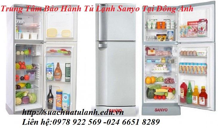 Trung tâm bảo hành tủ lạnh Sanyo tại Đông Anh