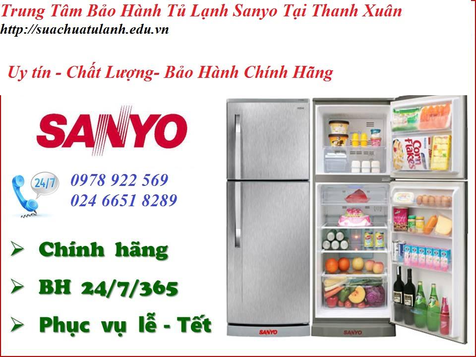 Trung Tâm Bảo Hành Tủ Lạnh Sanyo Tại Thanh Xuân