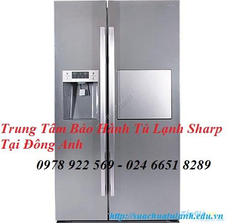 Trung Tâm Bảo Hành Tủ Lạnh Sharp Tại Đông Anh